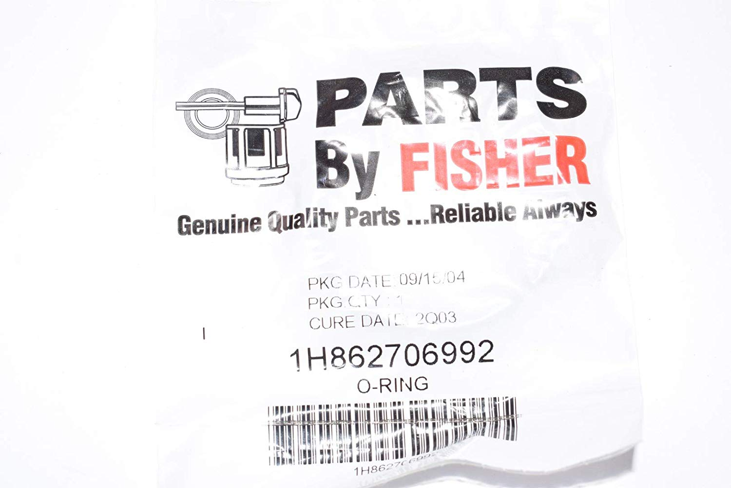 Fisher Parts By Emerson Oring